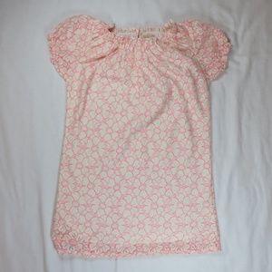 Peek XL 10 Clemmie Dress Cream Pink Lace G…